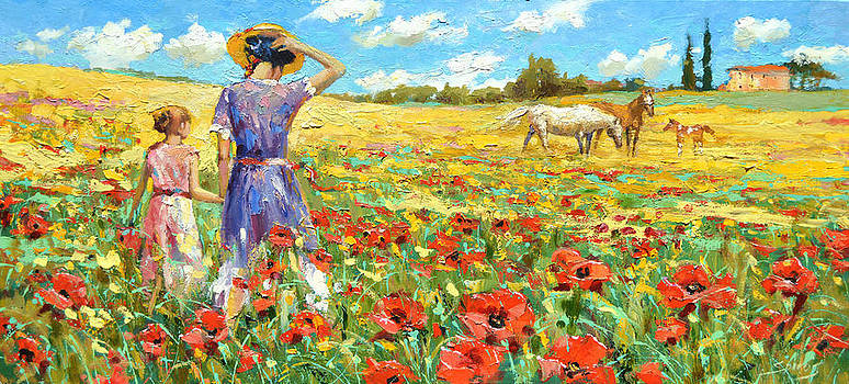 On the way home by Dmitry Spiros