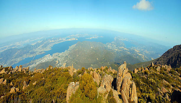 On top of the world Tasmania by Glen Johnson