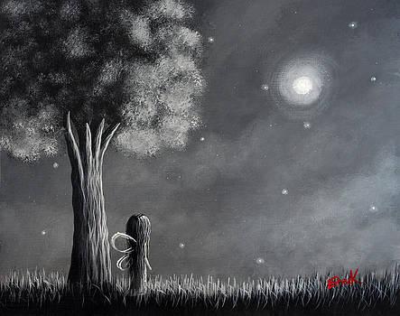 Once Upon A Dreamy Night Original Fairy Art by Shawna Erback