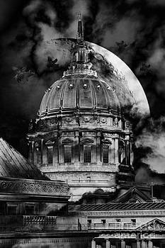 Wingsdomain Art and Photography - Once Upon A Time On A Warm Summers Night In San Francisco 5D22548 black and white