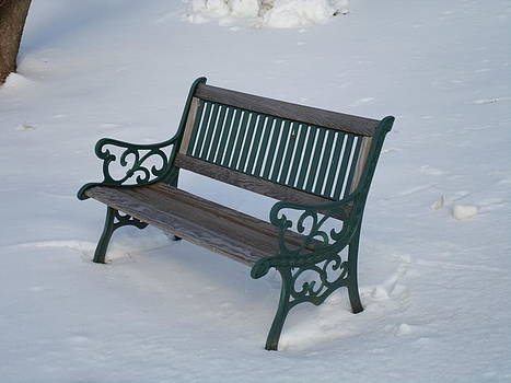 One Bench by Jenna Mengersen