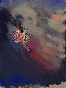 One leaf by Kiki Williams