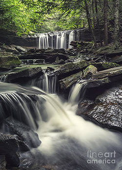 Oneida Falls August 2014 by Aaron Campbell