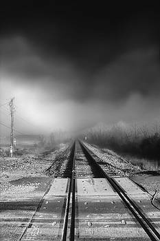 Jason Politte - Onward - Railroad Tracks - Fog