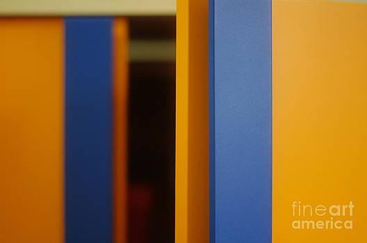 Orange - a closet by Giuseppe Ridino