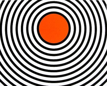Orange Circle by Scott Shaver