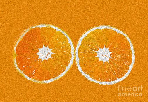 Orange Eyes by Victoria Herrera