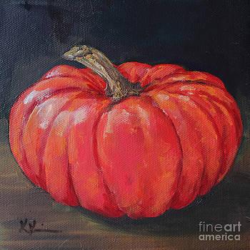 Orange Fairytale Pumpkin by Kristine Kainer