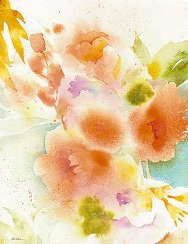 Orange Garden Reverie by Sheila Golden