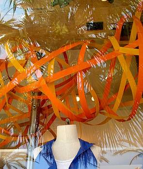 Orange Ribbons by Peggy Stokes