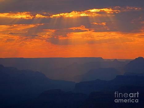 John Malone - Orange Sky over the Grand Canyon