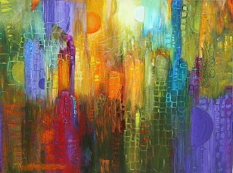 Orange sun by Lauren  Marems