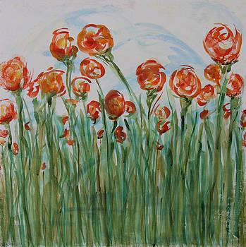 Orange Tops by Carrie  Godwin