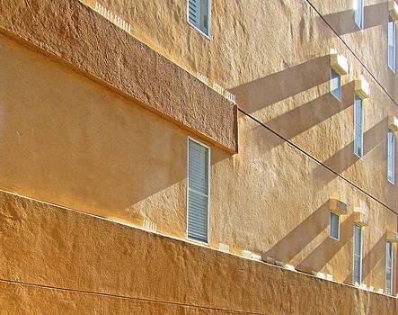 Orange Wall by Lauren Steinhauer