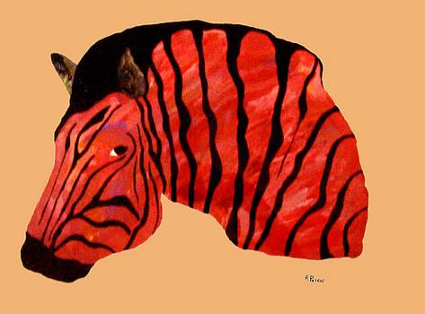 Orange Zebra by Andrew Petras