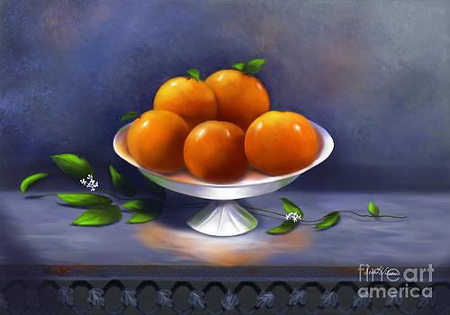 Oranges A La Carte by Sena Wilson