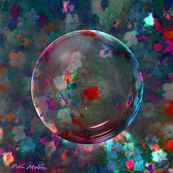 Robin Moline - Orbed in Spring Blossom