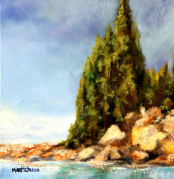 Orcas Island by Marti Green