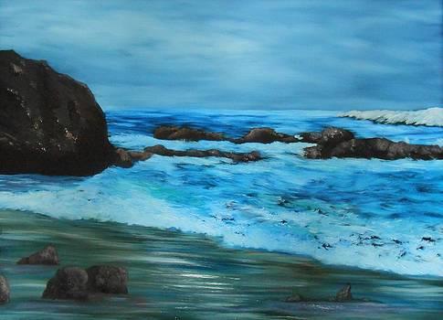 Oregon Beach by Dorothy Merritt