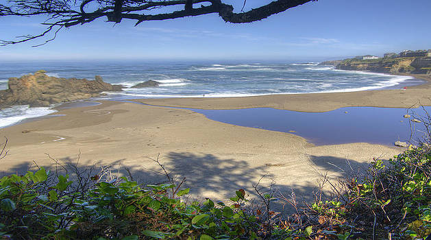 Oregon Beach by Rod Mathis