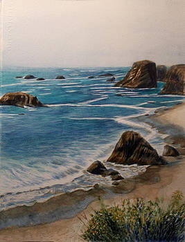 Oregon Coast by Carol Oberg Riley