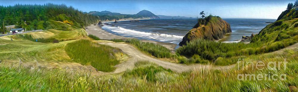 Gregory Dyer - Oregon Coast Panorama