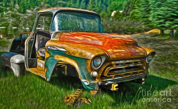 Gregory Dyer - Oregon Coast Rusty Old Truck