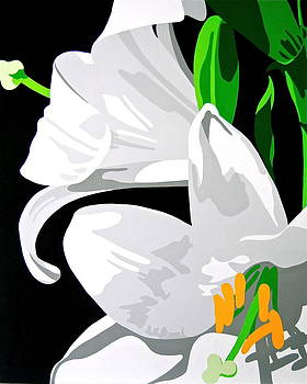 Oriental Lily by Susan Porter