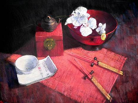 Oriental Still Life by Jackie Simmonds