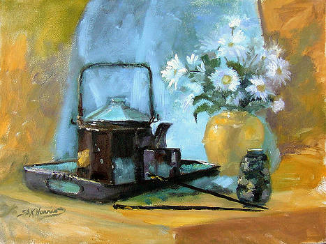 Oriental Teapot by Sharen AK Harris