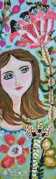 Original Bohemian Girl by Karen Fields