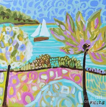 Original Painting Dream Coast by Karen Fields