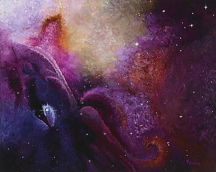 Cosmos Orion's Nebula  by Karen Balon