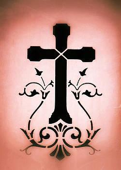 TONY GRIDER - Ornate Cross Stencil