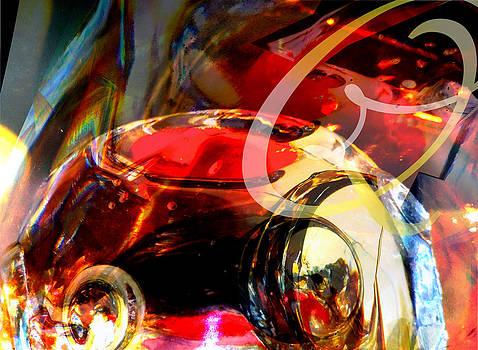 Orrefors Glass Reflecions by Judy Paleologos