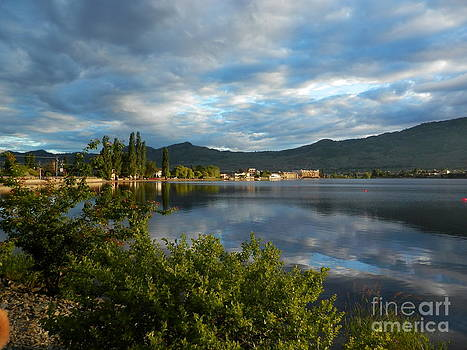 Osoyoos - Quiet Reflection by Margaret McDermott