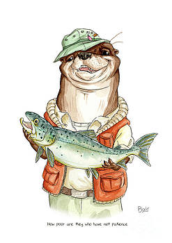Otter by Blair Bailie