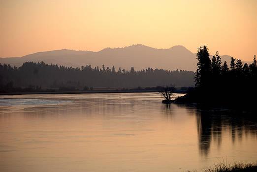 Otter Lake Freeze by Michael Dohnalek