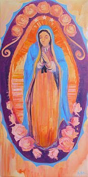 Our Lady of Guadalupe by Azhir Fine Art