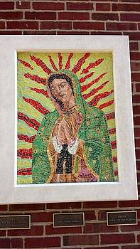Our Lady of Guadalupe Mosaic by Patrick RANKIN