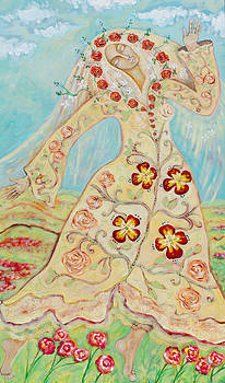 Our Lady of the Flowering Earth by Shiloh Sophia McCloud