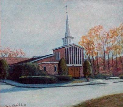 Our Lady Of The LakesChurch Oakdale CT by William H RaVell III