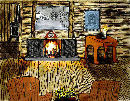 Our Little Log Home by Gerald Griffin