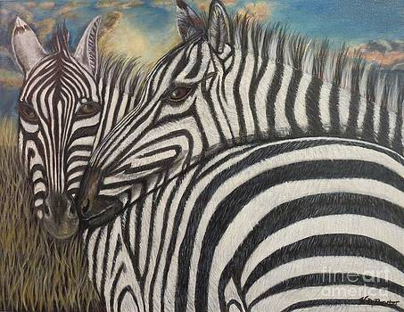 Our Stripes May Be Different But Our Hearts Beat As One by Kimberlee Baxter