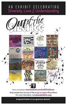 Out of The Silence Poster by Design Edge