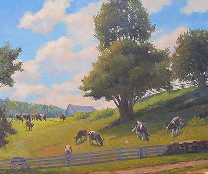 Out to Pasture by Dianne Panarelli Miller