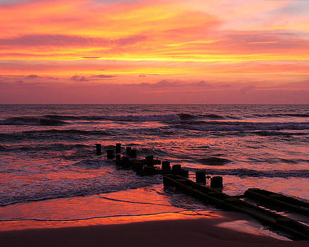 Outer Banks Sunrise by Brian M Lumley