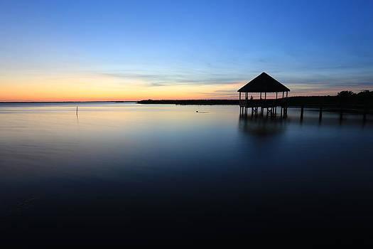 Outer Banks Sunset by Brenda Schwartz