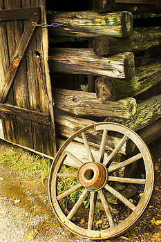 Outside the Blacksmith Shop by Jeffcoat Art