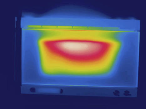 Oven, Thermogram by Science Stock Photography